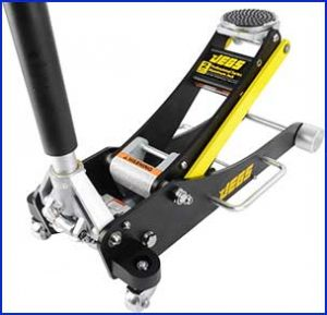 JEGS Performance Aluminum Low Profile Floor Jack