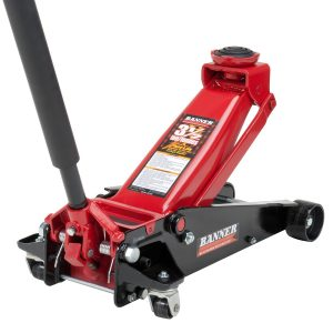 Blackhawk B6350 BlackRed Fast Lift Service Jack