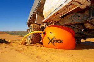 Inflatable Exhaust Jacks